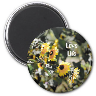 Love Life 2 Inch Round Magnet