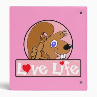 Love Life 3 Ring Binder