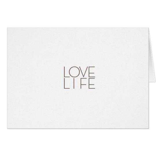 love life.ai card