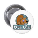 Love Life Button