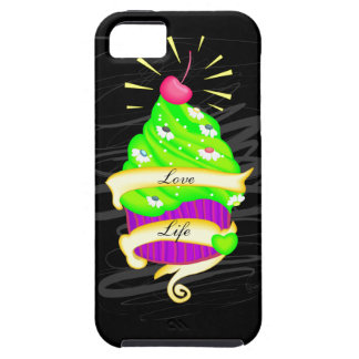 Love Life Cupcake iPhone 5 Cases