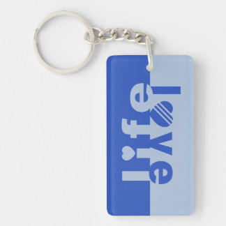 LOVE LIFE custom key chain