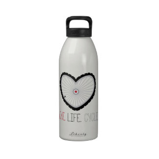 Love Life Cycle Drinking Bottles
