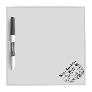 Love Life Dry-Erase Board