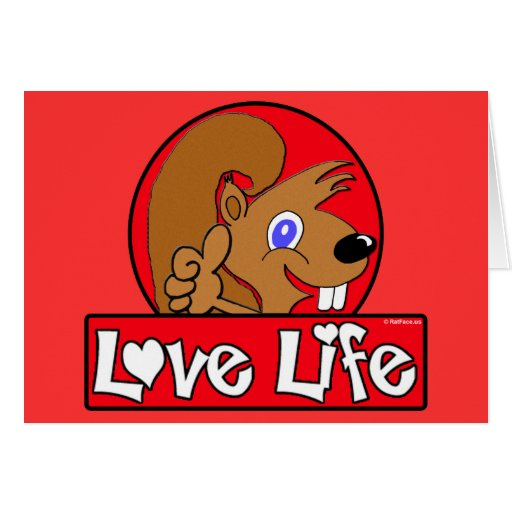 Love Life Greeting Cards