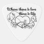 Love Life Guitar Pick at Zazzle