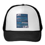 'Love Life' Inspiring & Motivating Products (Blue) Hat