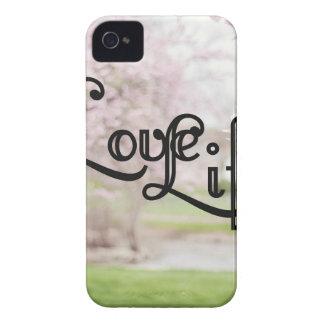 Love Life iPhone 4 Case