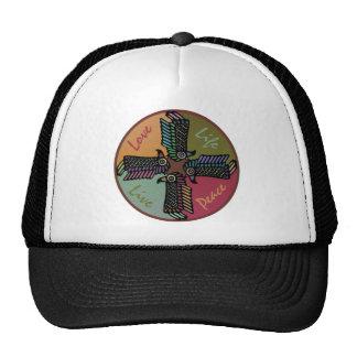 Love Life Live Peace Trucker Hat