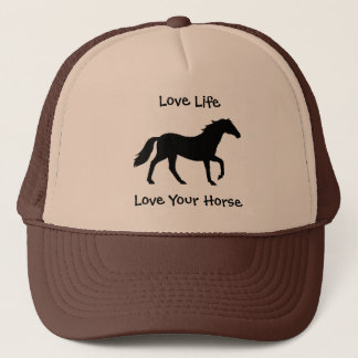 Love Life, Love Your Horse Hat