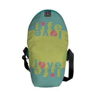 LOVE LIFE messenger bag (small)