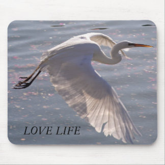 LOVE LIFE MOUSE PAD