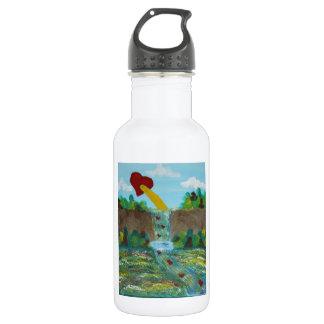 Love, Life, Peace Water Bottle