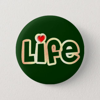 Love Life Pinback Button