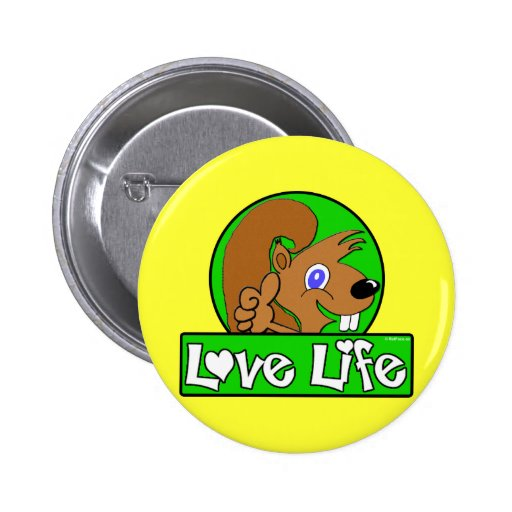 Love Life Pinback Buttons
