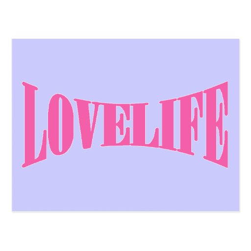 Love Life Post Card