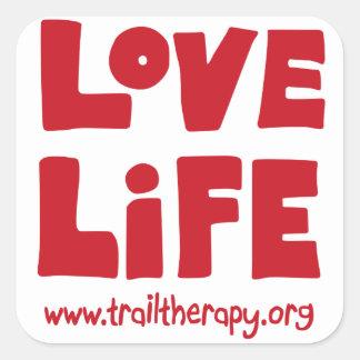 Love Life Square Sticker