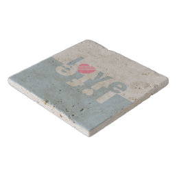 Love / Life stone trivets