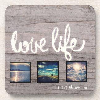 Love. Life. Travel. Drink Coaster
