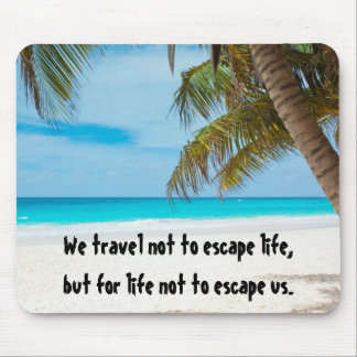 Love Life - Travel Mouse Pad