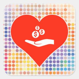 Love Lifestyle Square Sticker