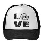 Love Lifting Weights Trucker Hats