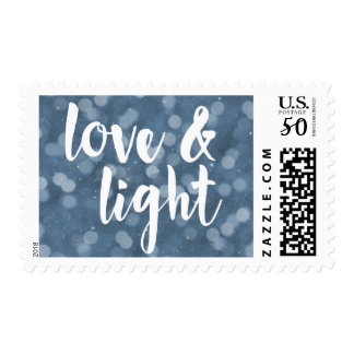 Love & Light | Bokeh Hanukkah Postage