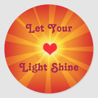 Love Light Shine Sticker