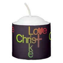 Love Like Christ (colored 1) Votive Candle