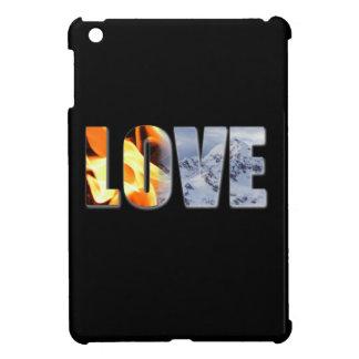 Love Like Fire Snow Hard shell iPad Mini Case