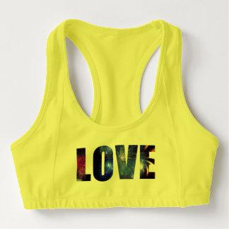 Love Like Fireworks Custom Women's Alo Sports Bra