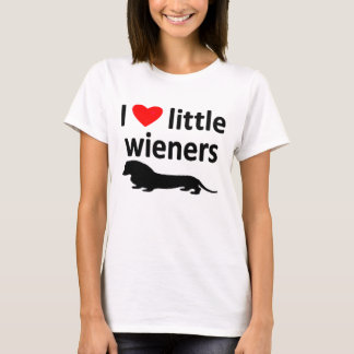 LOVE LITTLE WIENERS TEE
