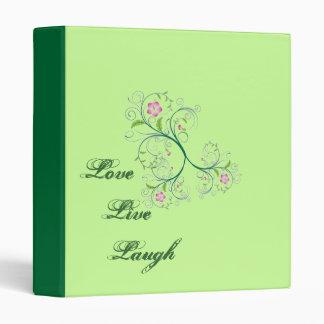 Love live laugh- Avery Binder