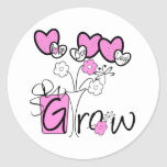 Love Live Laugh Grow Stickers