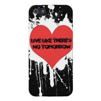 Love & Live Like There's No Tomorrow iPhonecase iPhone SE/5/5s Cover