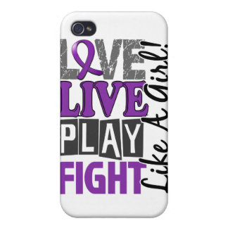 Love Live Play Fight Like A Girl Epilepsy iPhone 4/4S Covers