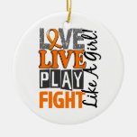 Love Live Play Fight Like A Girl MS Christmas Ornaments