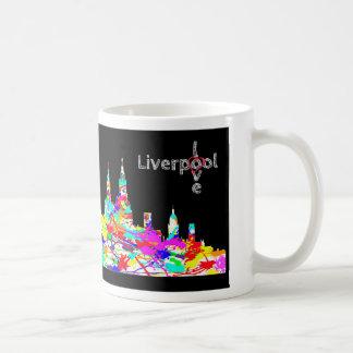 Love Liverpool - Liverpool Skyline Ceramic Mug