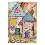 love lives here. greeting card