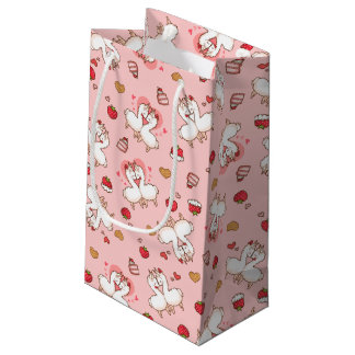 Love Llama Madness Small Gift Bag