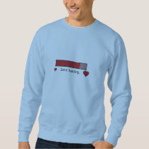 love loading gaming heart Zev4x Sweatshirt