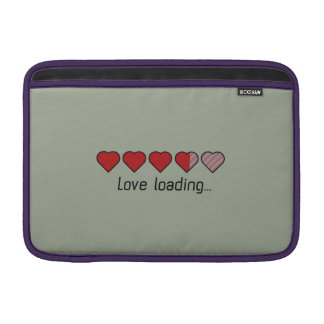 Love loading hearts Zzl2s Sleeve For MacBook Air