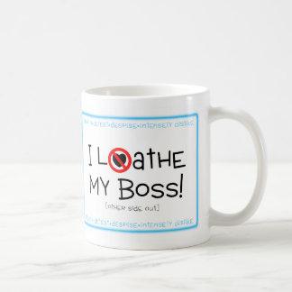 Love/Loathe Relationship Classic White Coffee Mug