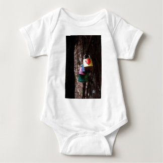 Love Locked Baby Bodysuit