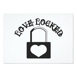 Love Locked Card