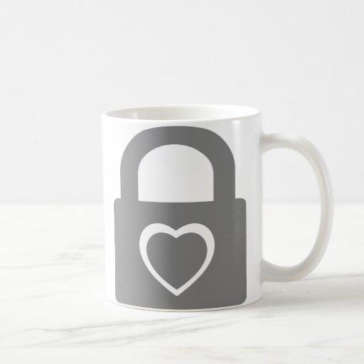 love locked down coffee mug