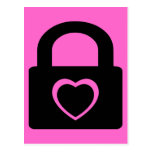 love locked down. post cards