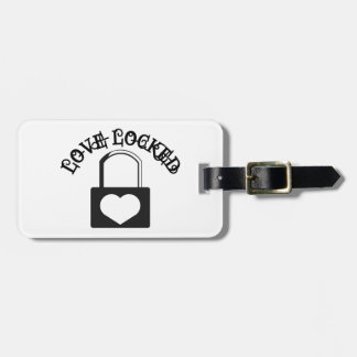 Love Locked Tags For Luggage