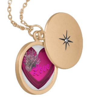 love locket necklace