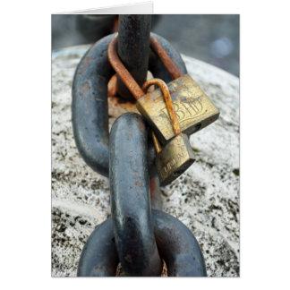 Love Locks Card